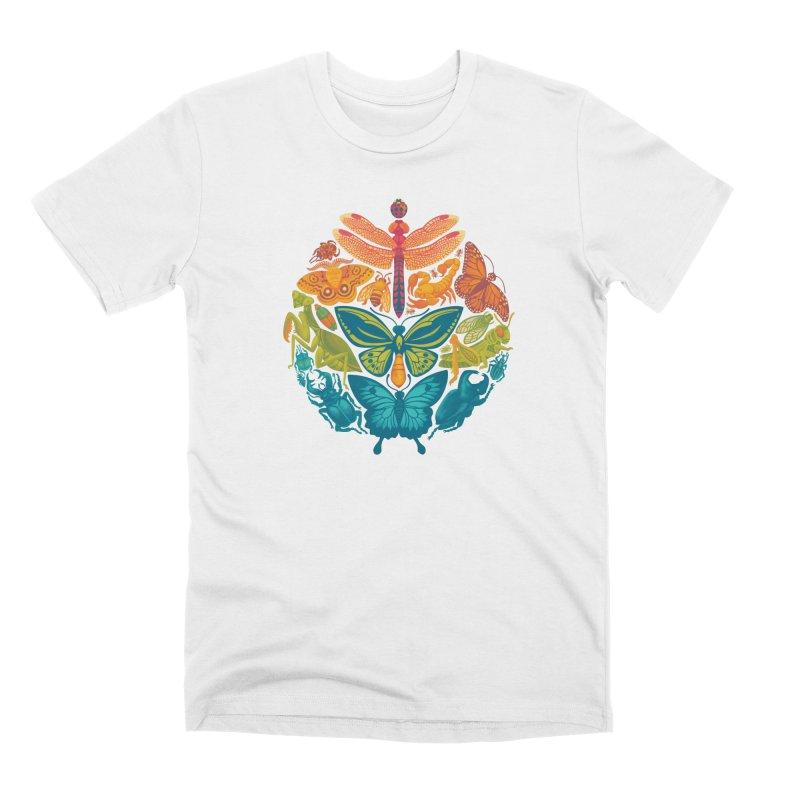 Bugs & Butterflies 2 Men's Premium T-Shirt by Waynem