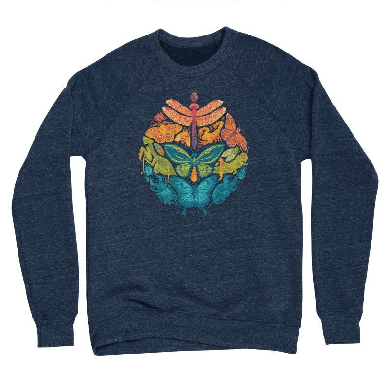 Bugs & Butterflies 2 Men's Sponge Fleece Sweatshirt by Waynem