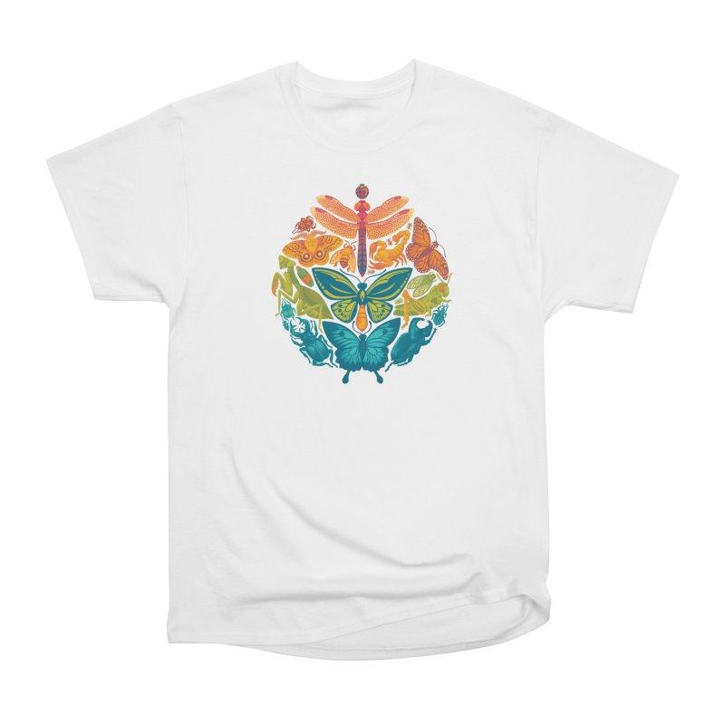 Bugs & Butterflies 2 Men's Heavyweight T-Shirt by Waynem