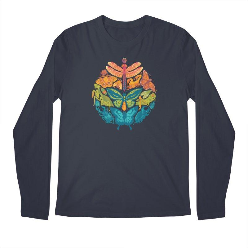 Bugs & Butterflies 2 Men's Regular Longsleeve T-Shirt by Waynem
