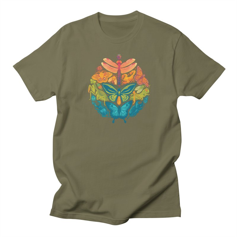 Bugs & Butterflies 2 Women's Regular Unisex T-Shirt by Waynem