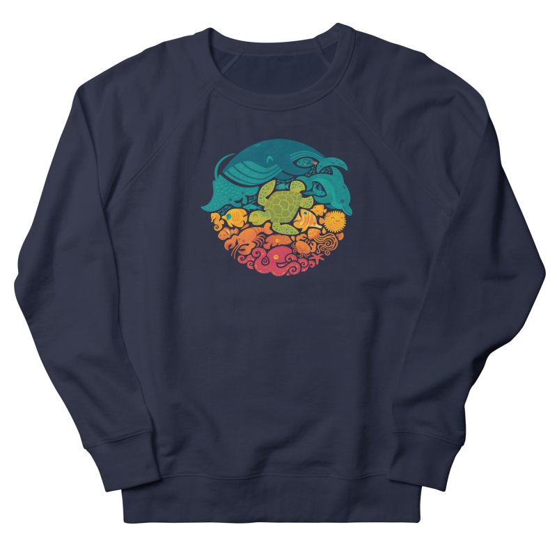 Aquatic Rainbow Women's Sweatshirt by Waynem