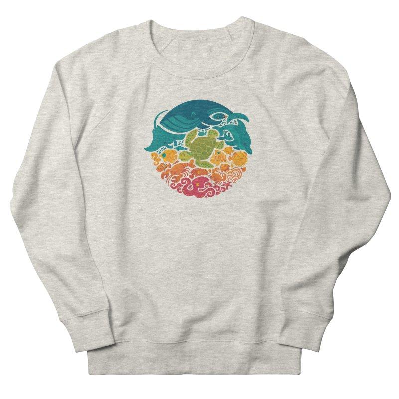 Aquatic Rainbow Men's Sweatshirt by Waynem