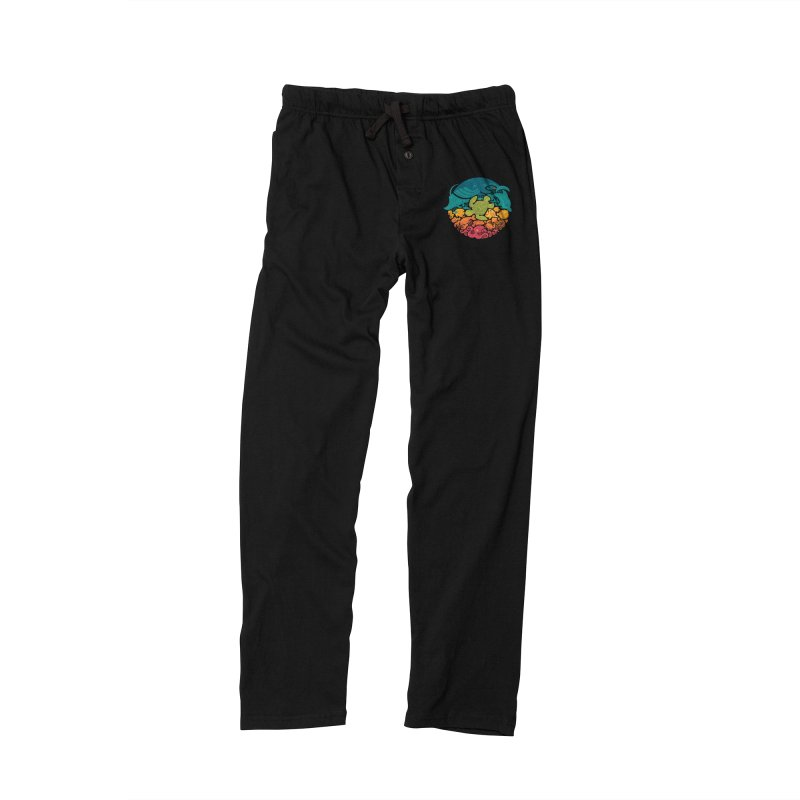 Aquatic Rainbow Women's Lounge Pants by Waynem