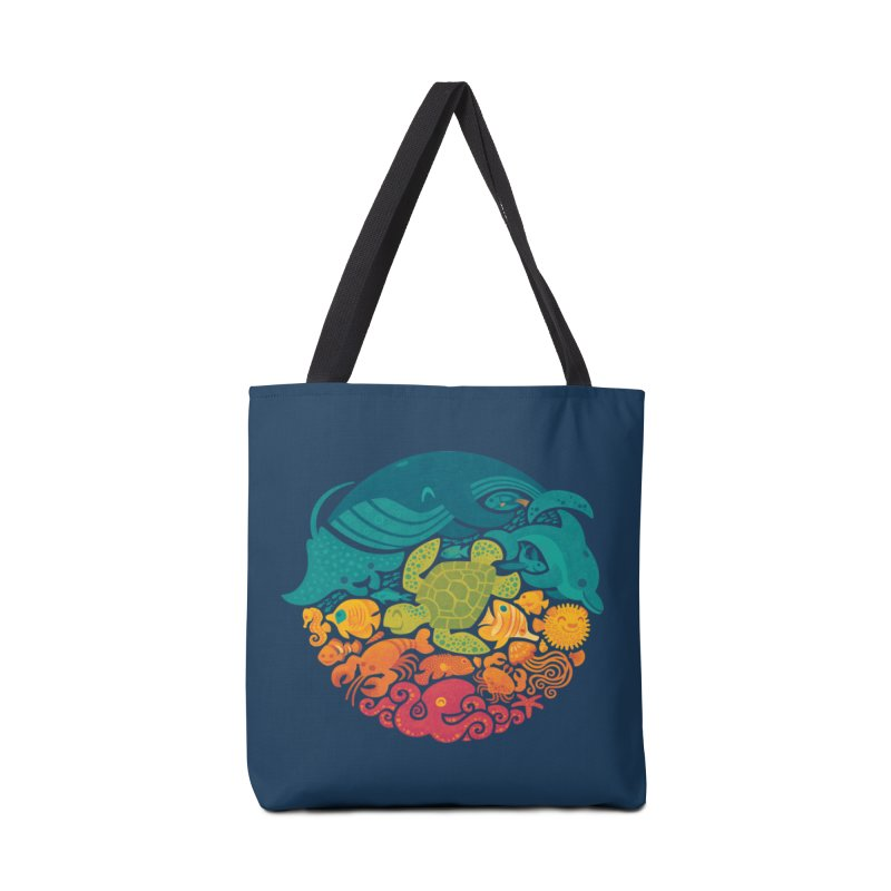 Aquatic Rainbow Accessories Bag by Waynem