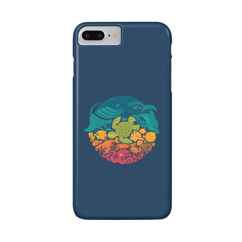 Aquatic Rainbow Accessories Phone Case by Waynem