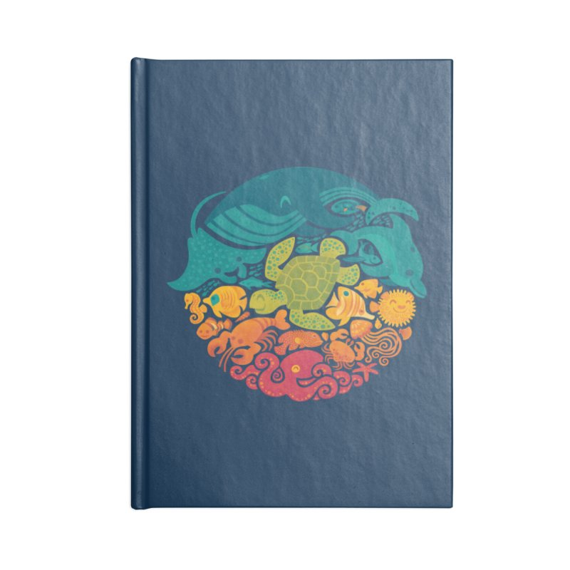 Aquatic Rainbow Accessories Notebook by Waynem