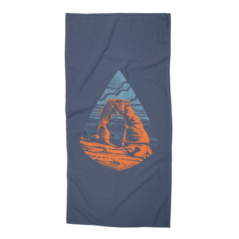 Delicate Arch Accessories Beach Towel by Waynem
