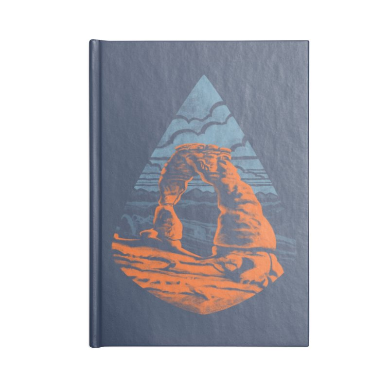 Delicate Arch Accessories Notebook by Waynem