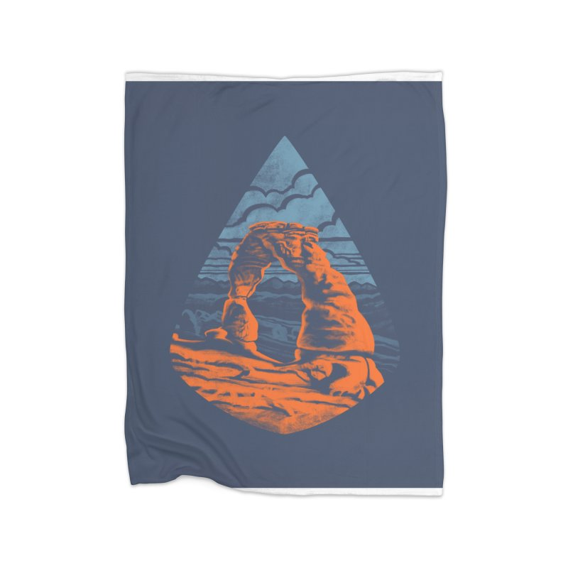 Delicate Arch Home Blanket by Waynem