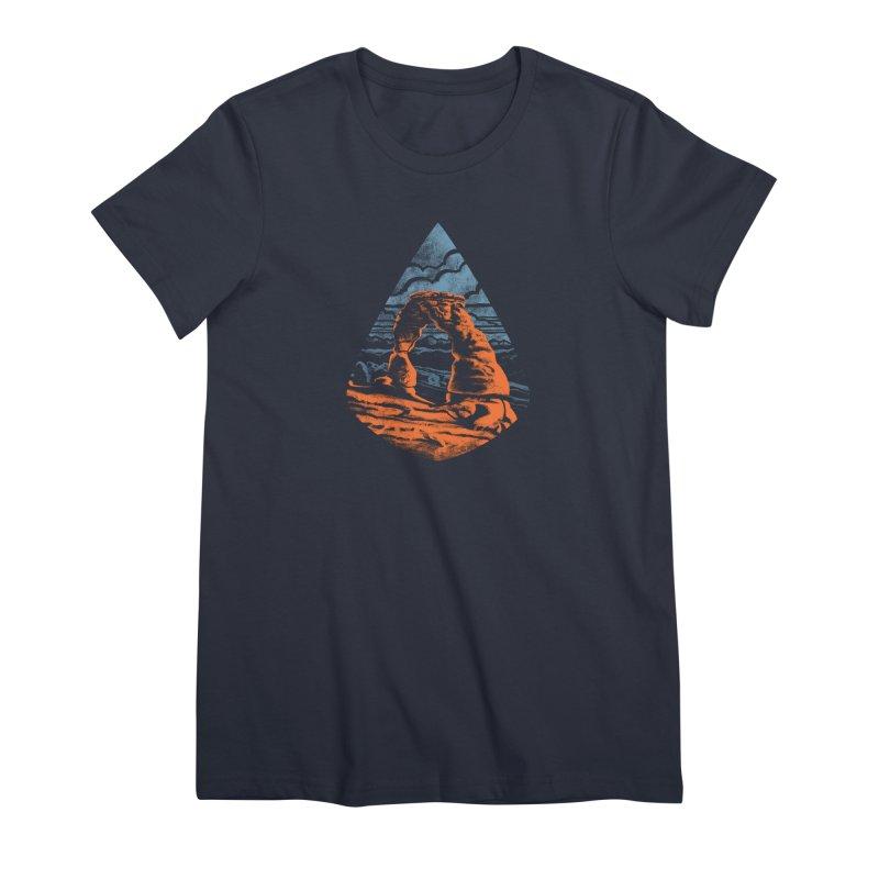 Delicate Arch Women's Premium T-Shirt by Waynem