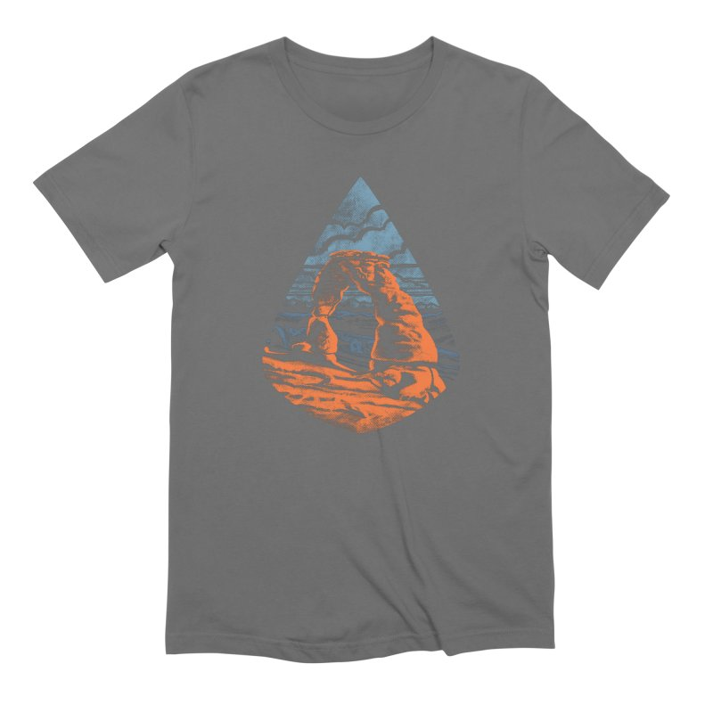 Delicate Arch Men's Extra Soft T-Shirt by Waynem