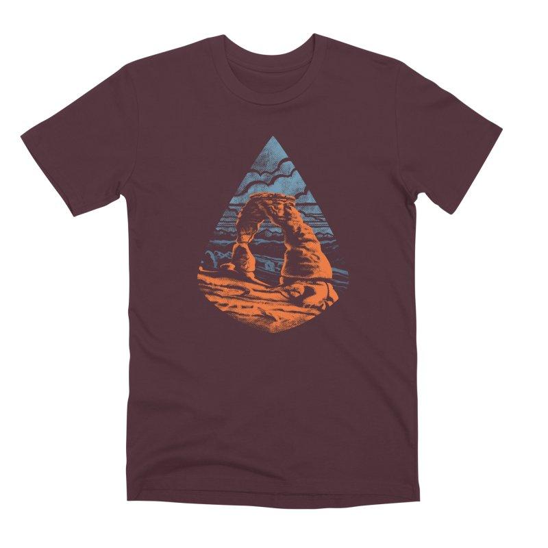 Delicate Arch Men's Premium T-Shirt by Waynem