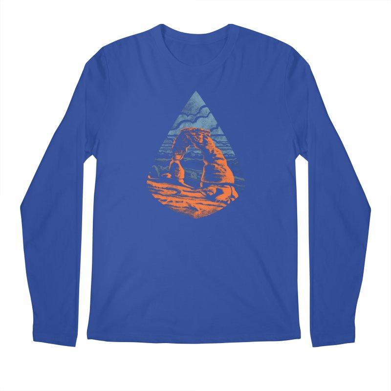 Delicate Arch Men's Regular Longsleeve T-Shirt by Waynem