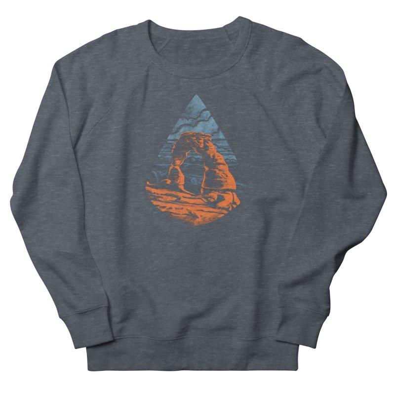 Delicate Arch Women's French Terry Sweatshirt by Waynem