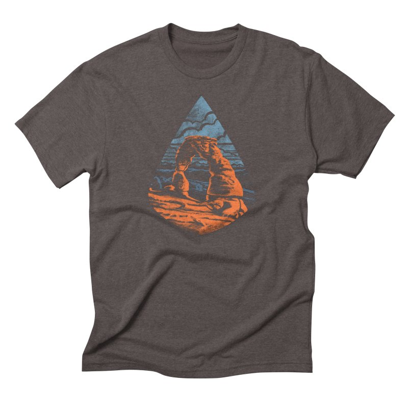 Delicate Arch Men's Triblend T-Shirt by Waynem