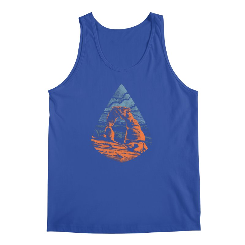 Delicate Arch Men's Regular Tank by Waynem