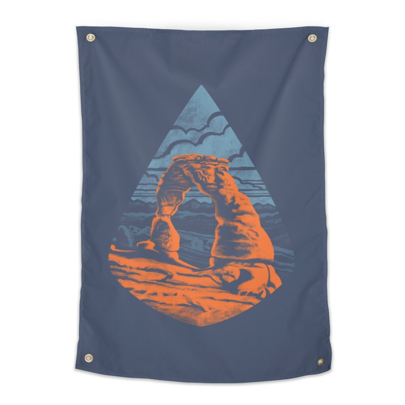 Delicate Arch Home Tapestry by Waynem
