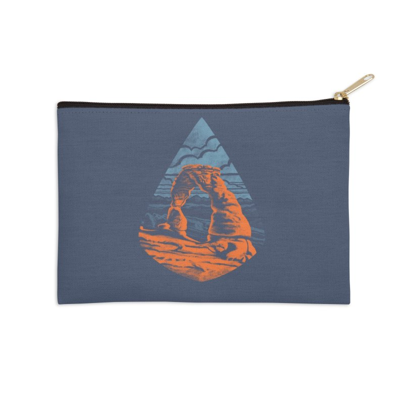 Delicate Arch Accessories Zip Pouch by Waynem