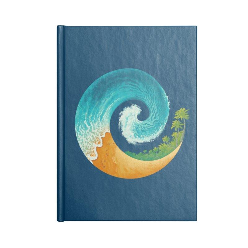 Spiral Beach Accessories Notebook by Waynem
