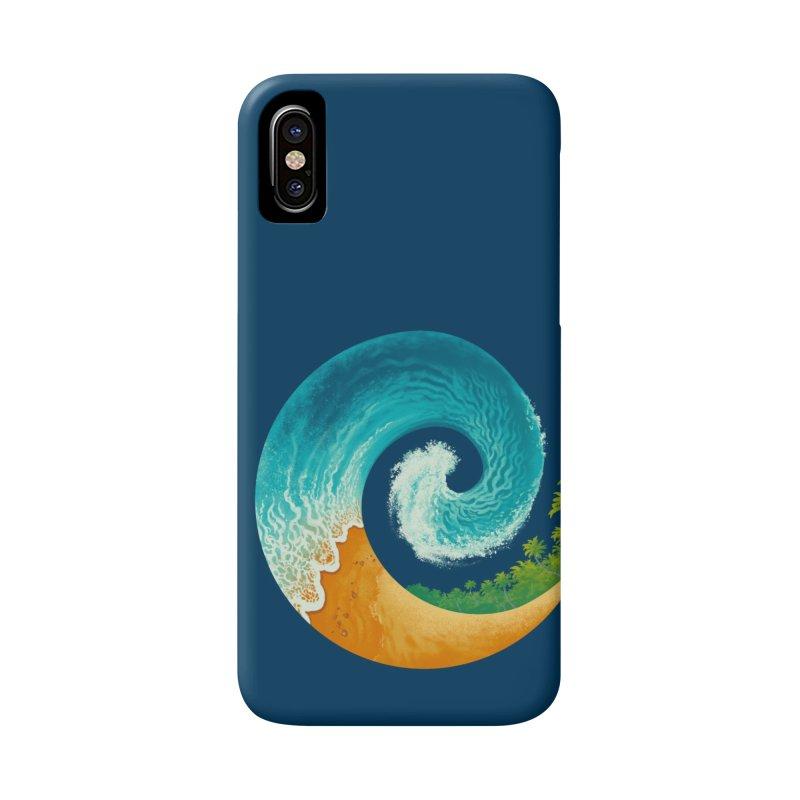 Spiral Beach Accessories Phone Case by Waynem