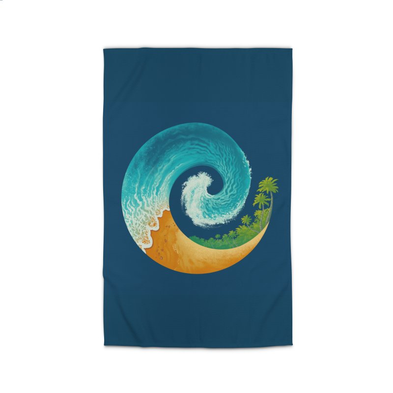 Spiral Beach Home Rug by Waynem