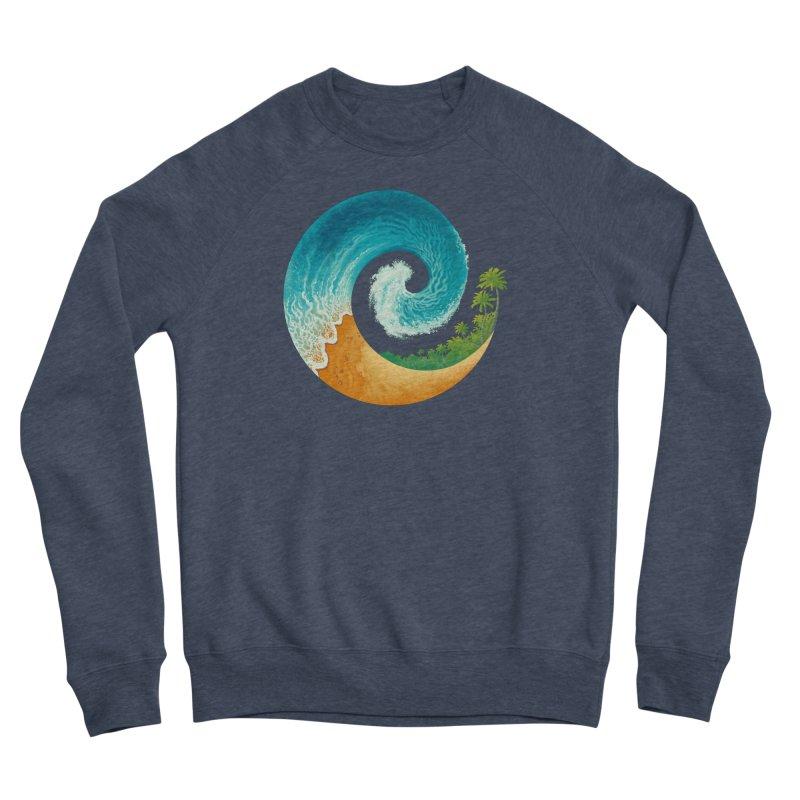 Spiral Beach Men's Sponge Fleece Sweatshirt by Waynem
