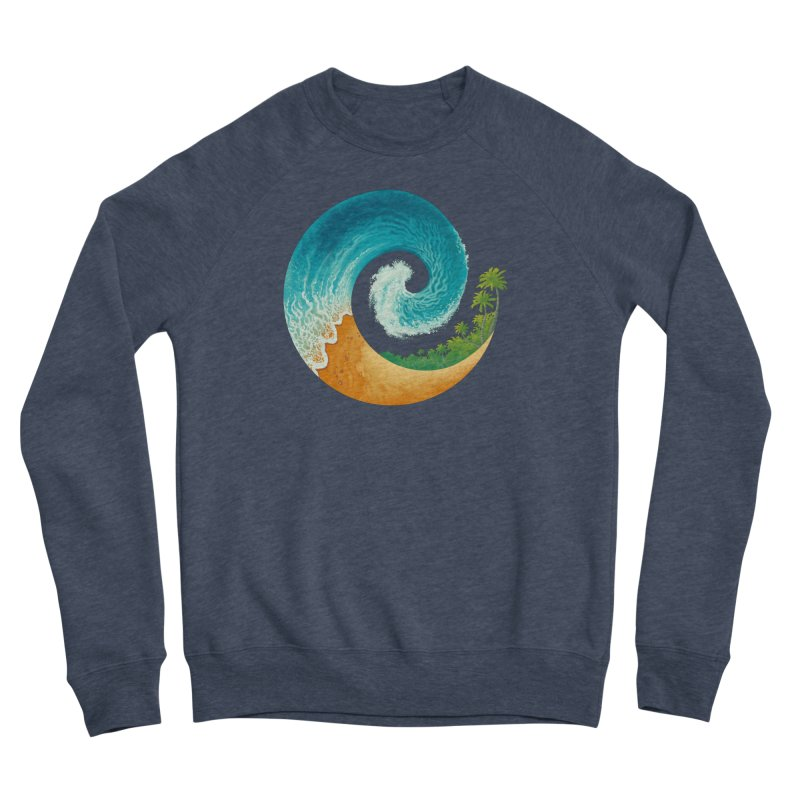 Spiral Beach Women's Sponge Fleece Sweatshirt by Waynem