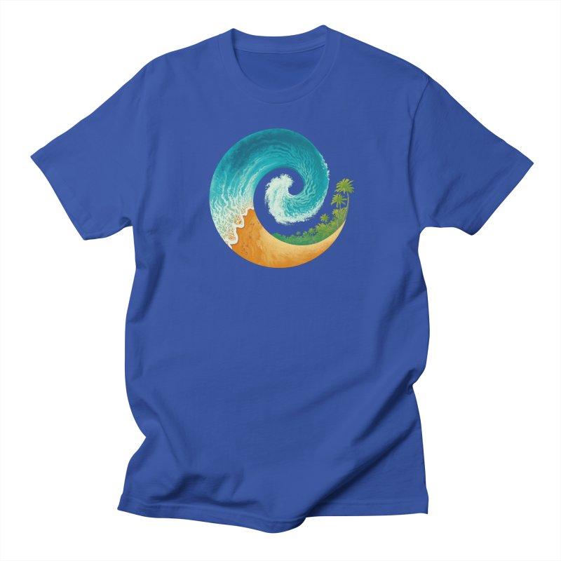 Spiral Beach Women's Regular Unisex T-Shirt by Waynem