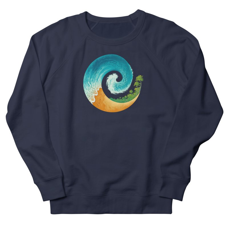 Spiral Beach Women's French Terry Sweatshirt by Waynem