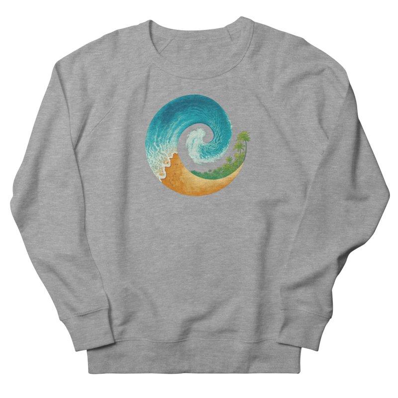 Spiral Beach Men's French Terry Sweatshirt by Waynem