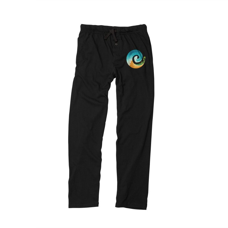 Spiral Beach Men's Lounge Pants by Waynem