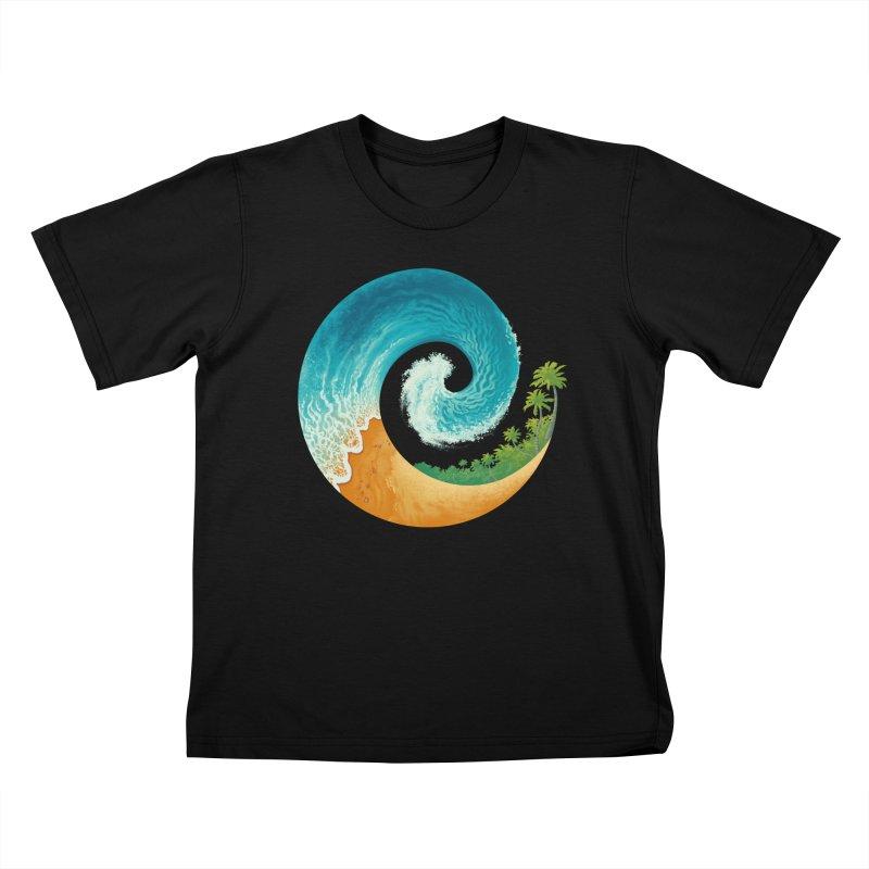 Spiral Beach Kids  by Waynem