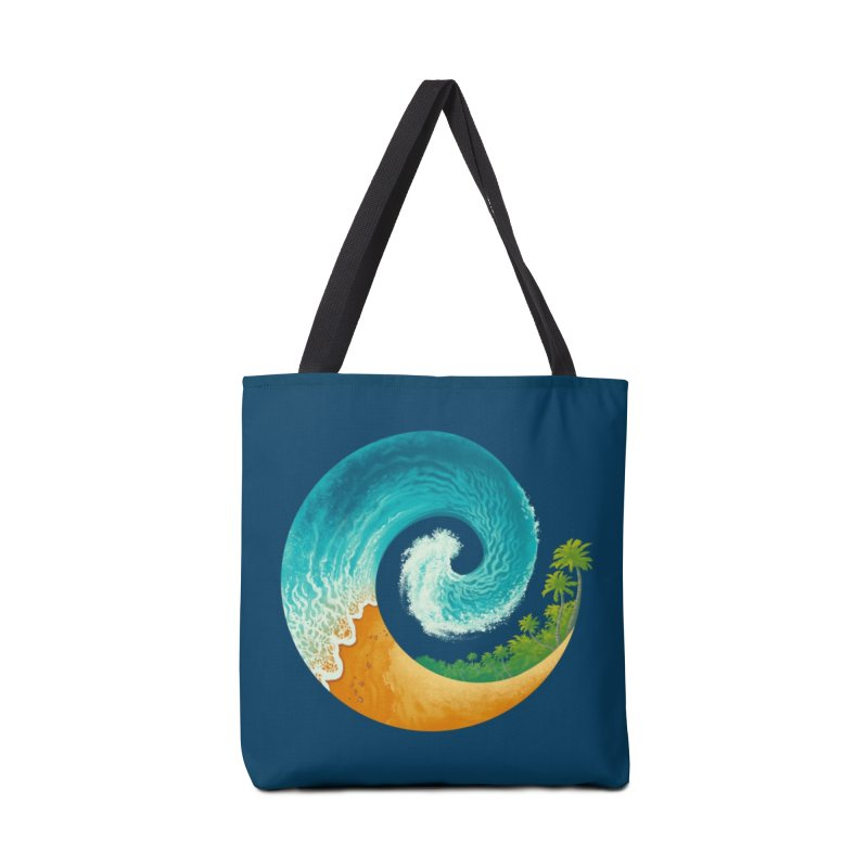 Spiral Beach Accessories Bag by Waynem