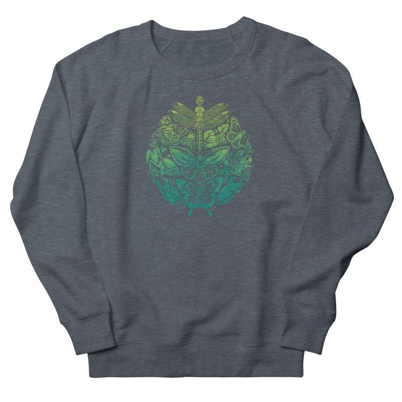 Bugs & Butterflies: Green Women's Sweatshirt by Waynem
