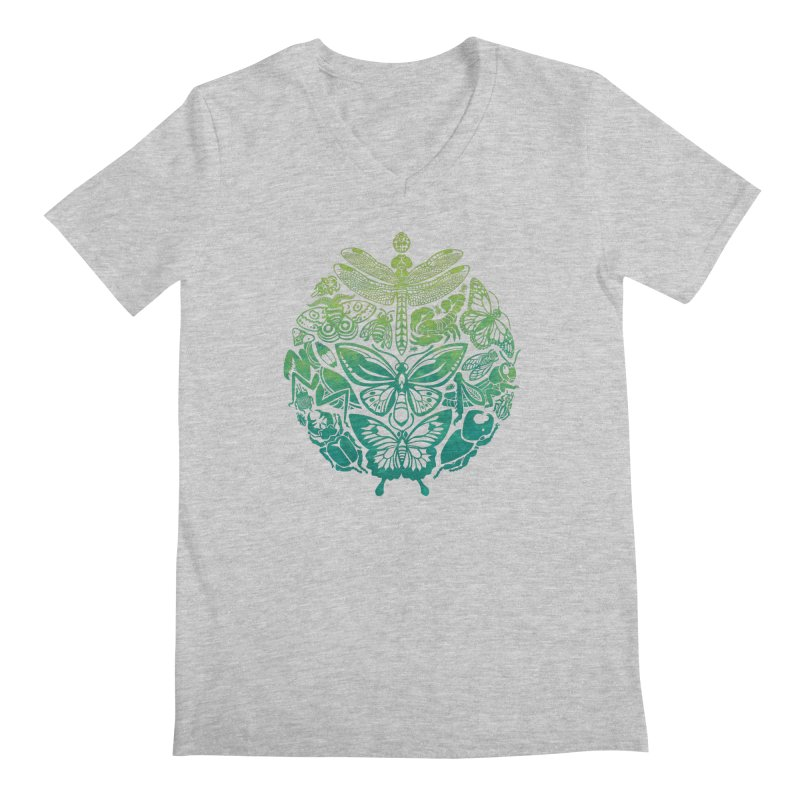 Bugs & Butterflies: Green Men's  by Waynem