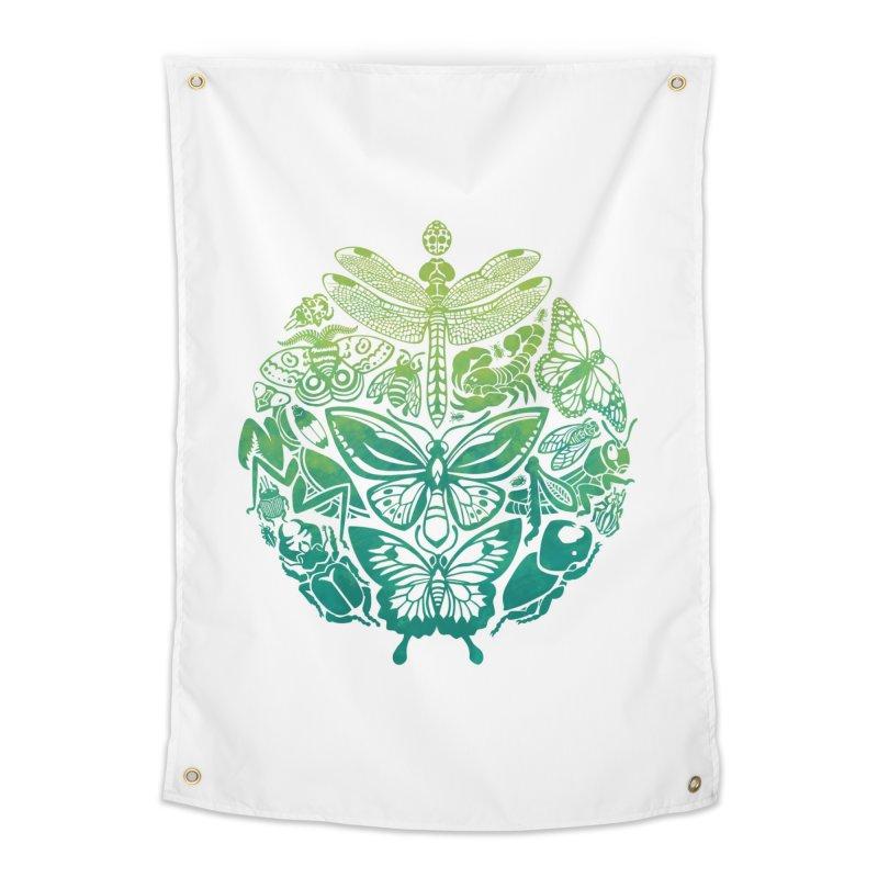 Bugs & Butterflies: Green Home  by Waynem