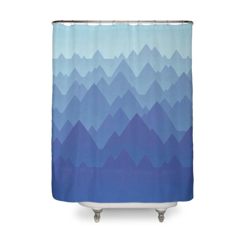 Mountain Vista Home Shower Curtain by Waynem