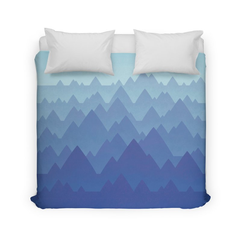 Mountain Vista Home Duvet by Waynem