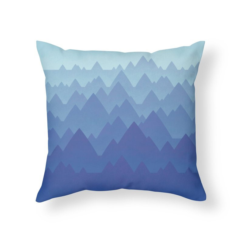Mountain Vista Home Throw Pillow by Waynem
