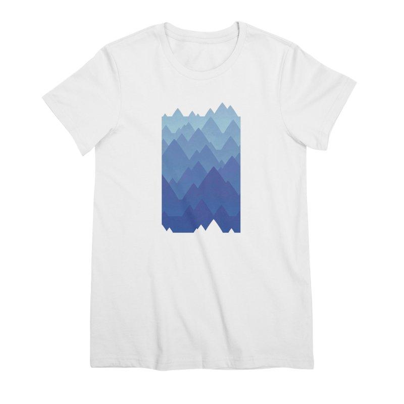 Mountain Vista Women's Premium T-Shirt by Waynem