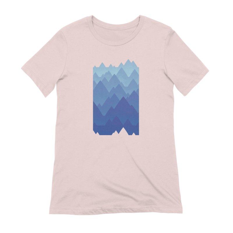Mountain Vista Women's Extra Soft T-Shirt by Waynem