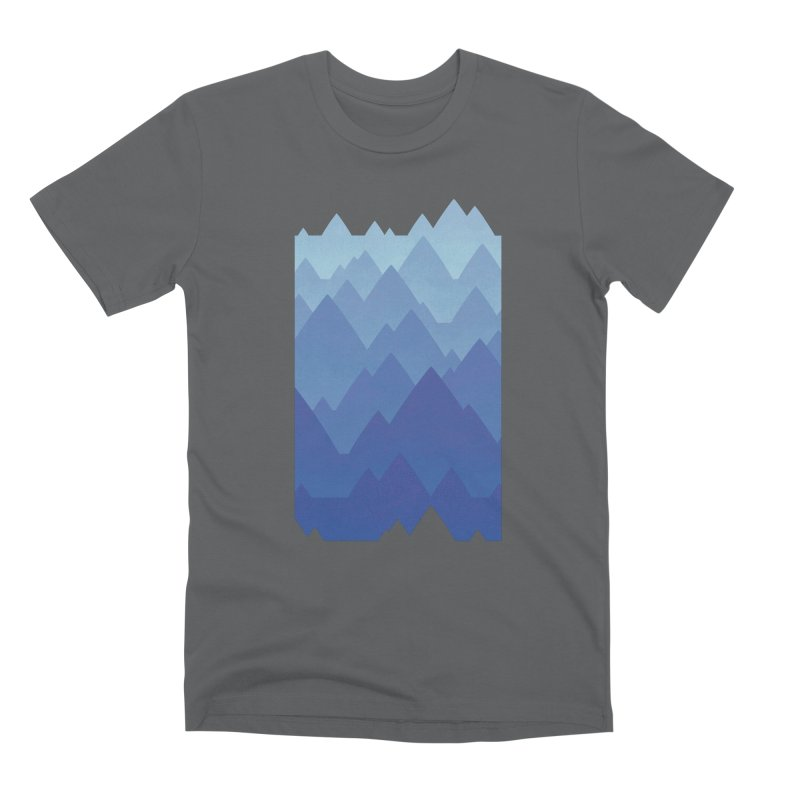 Mountain Vista Men's Premium T-Shirt by Waynem
