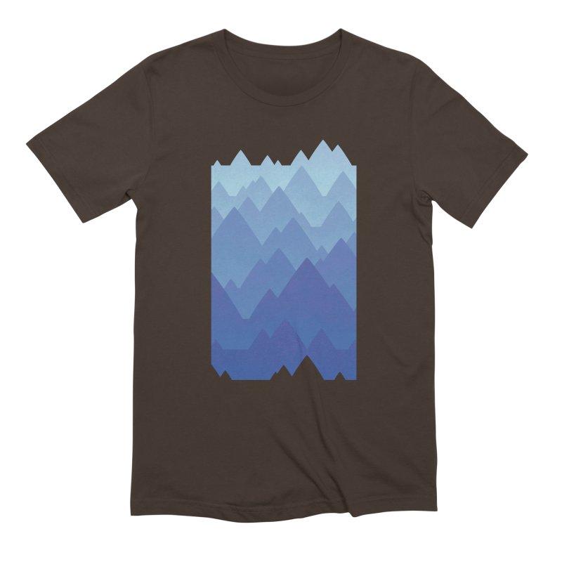 Mountain Vista Men's Extra Soft T-Shirt by Waynem
