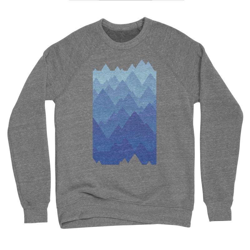 Mountain Vista Men's Sponge Fleece Sweatshirt by Waynem