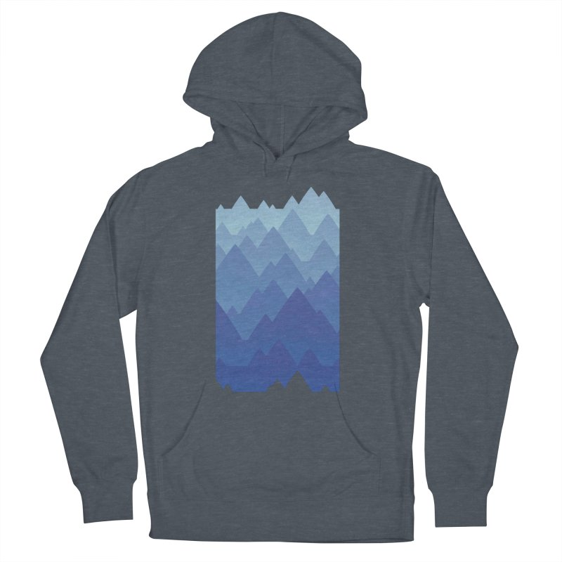 Mountain Vista Women's French Terry Pullover Hoody by Waynem
