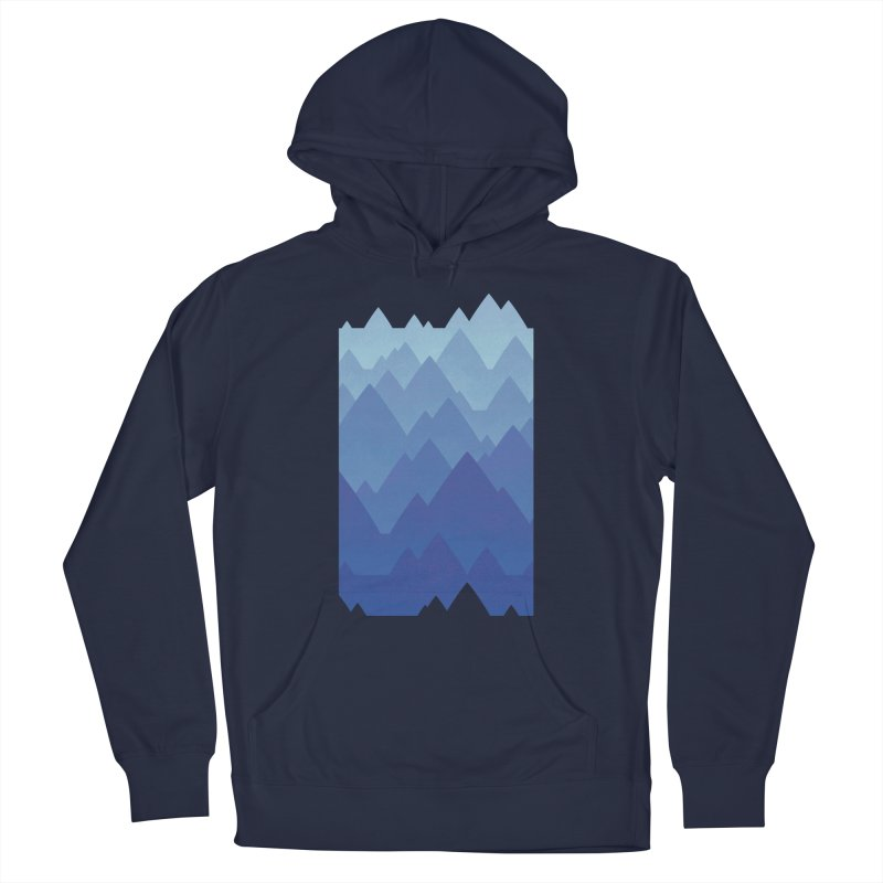 Mountain Vista Men's French Terry Pullover Hoody by Waynem