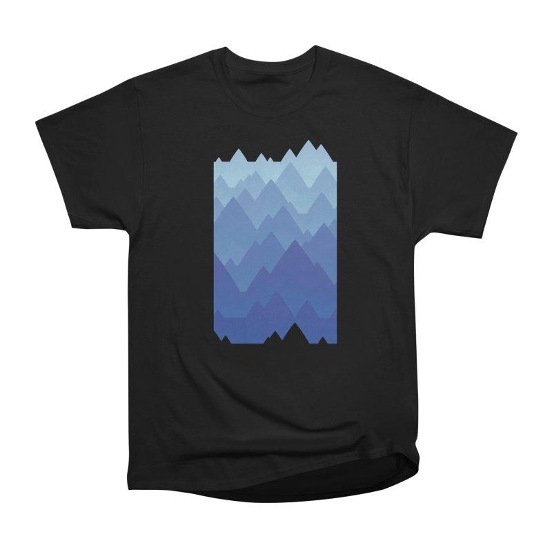 Mountain Vista Women's Heavyweight Unisex T-Shirt by Waynem