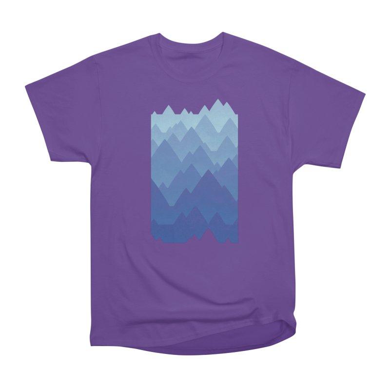 Mountain Vista Men's Heavyweight T-Shirt by Waynem