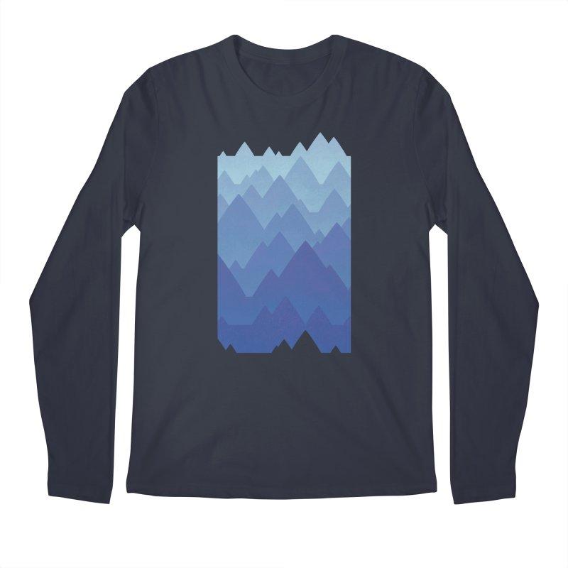 Mountain Vista Men's Regular Longsleeve T-Shirt by Waynem